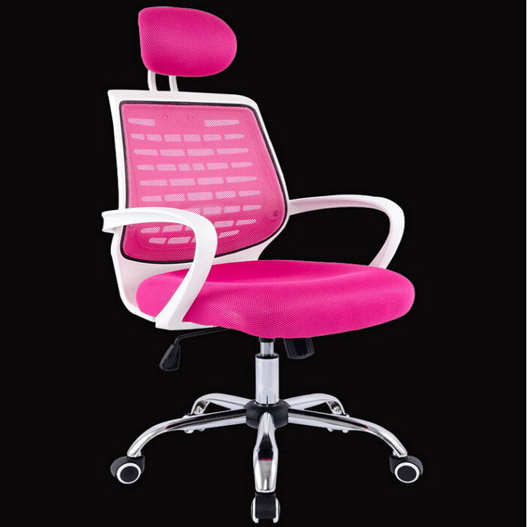 office furniture modern mesh chair/swivel chairs/ergonomic pink office chair