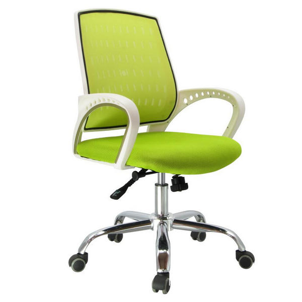 green office chairs / ergonomic mesh office chair / fabric office chair