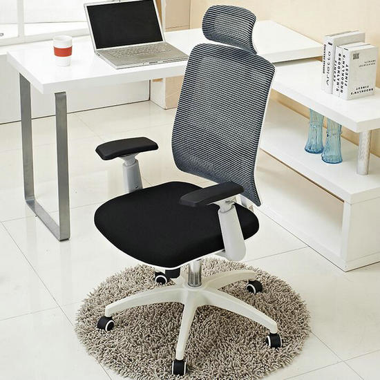 stylish office chairs/ergonomic desk chairs/luxury office furniture