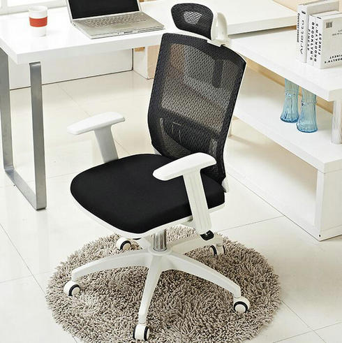 white mesh office chair/home office desk chairs/computer office chairs