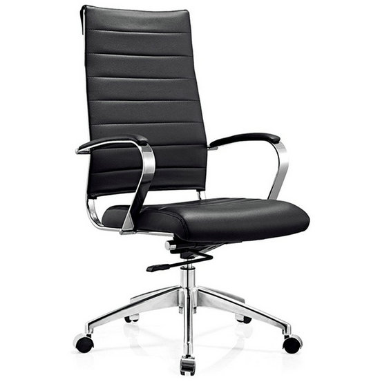 black leather office chair/office executive chairs/ergonomic office furniture