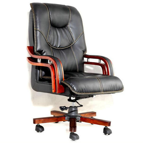 Cheap wooden leather office chairs,best ergonomic office chairs