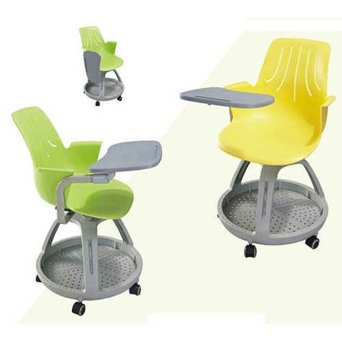Chair Writing Pad Plastic Classroom Student Tablet Chair School Lecture Hall Furniture