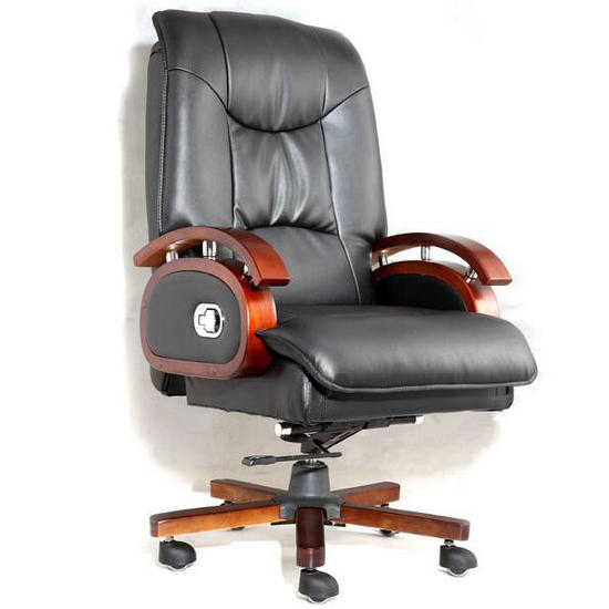 office furniture wooden genuine leather chair,best ergonomic executive chairs