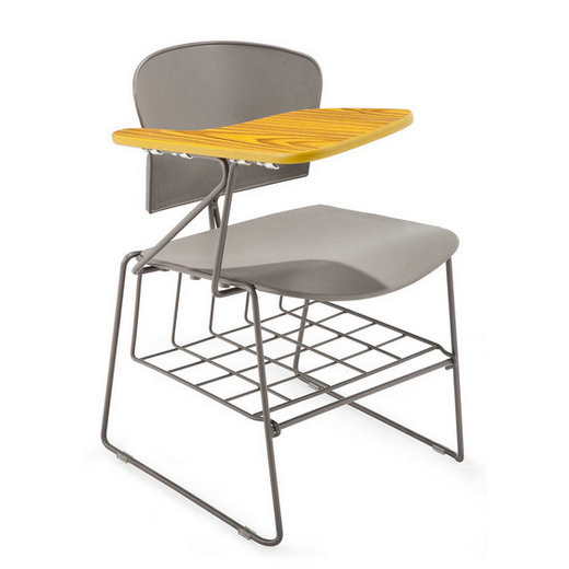 training school student chair with wooden tablet,folding office chairs