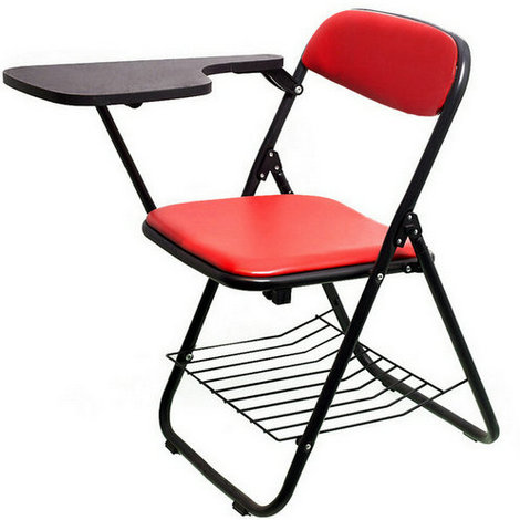 folding office chairs,conference chairs,study chairs,training room writing tablet
