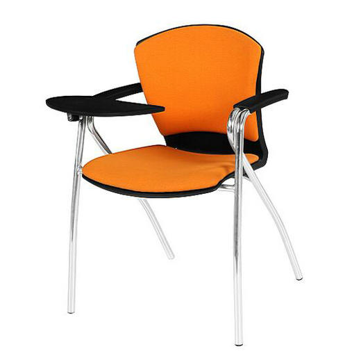 plastic training chair study chairs meeting room chairs with writing tablet