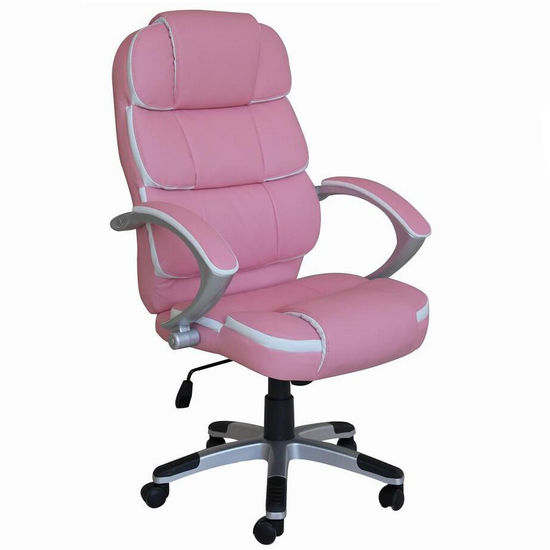 pink office chairs,ergonomic leather executive office chair