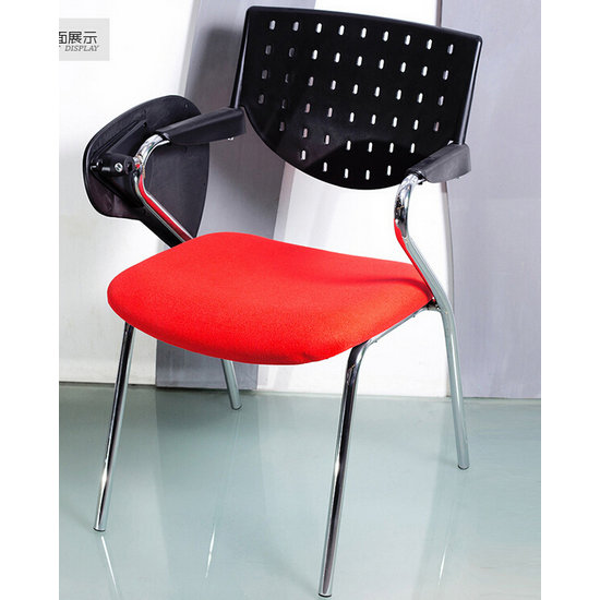 classroom seating,plastic school chairs,conference room chairs with writing pad