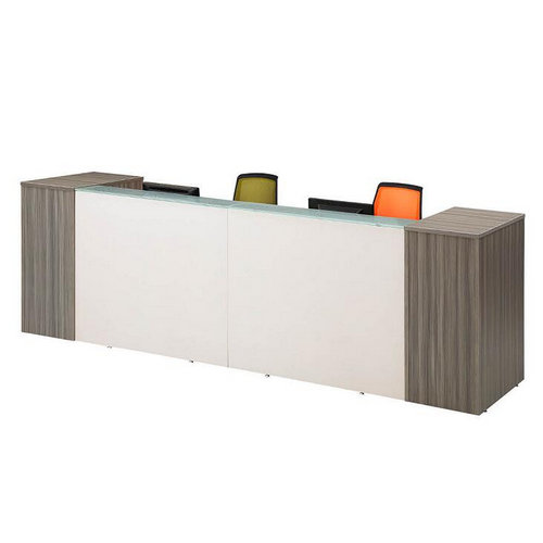modern office reception counter / solid surface reception desks / reception table