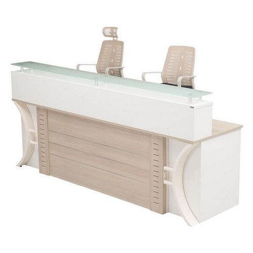 modern office reception desk / high-quality hall reception table