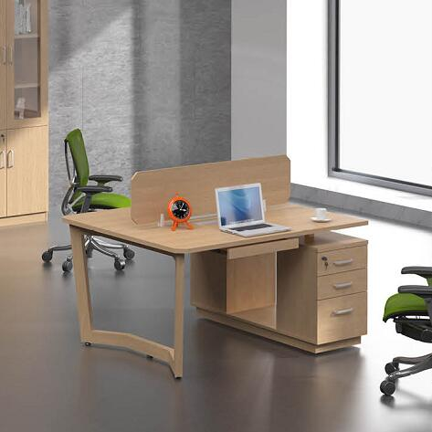 wood office corner desk / corner computer tables with drawers