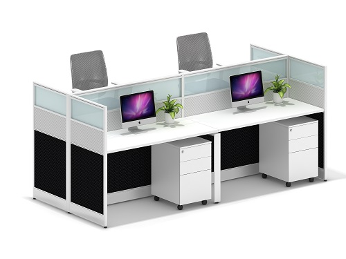 office staff computer desks / wooden office workstation / high quality office station