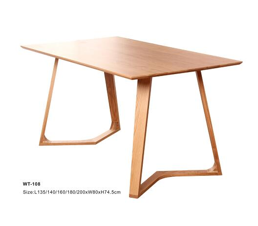 wooden dining tables / dining room furniture / modern kitchen table