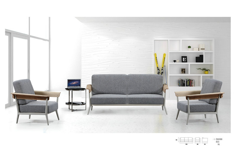 china furniture suppliers new style retro sofa / fabric office sofas