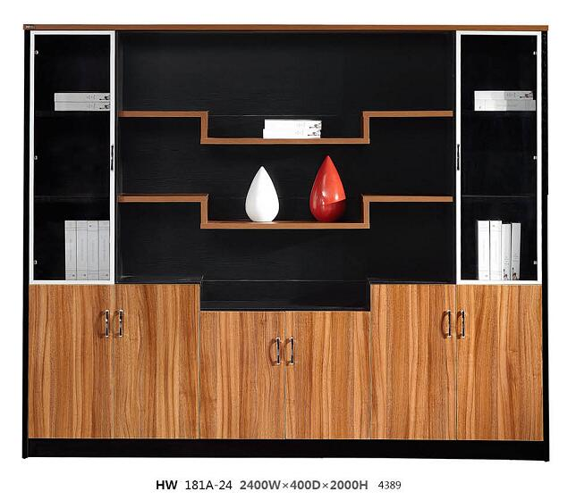 modern file drawers / wood lockable filing cabinets / office storage furniture