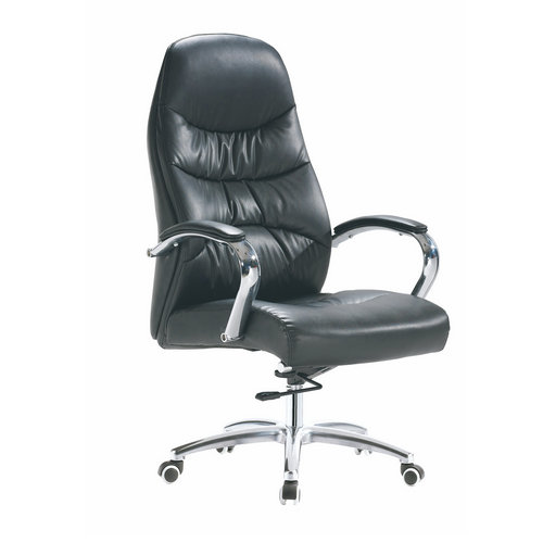 High back big and tall leather office chair / discount executive chairs