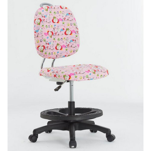 High Quality Swivel Colorful Fabric Korea Kids Chair / Children Study Chair