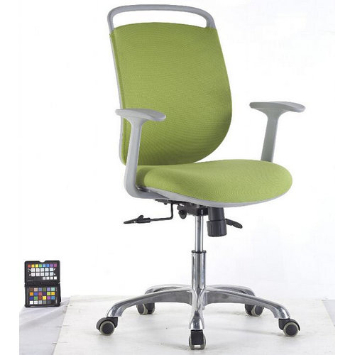 comfortable Plastic frame fabric swivel office chair / best sell computer chair