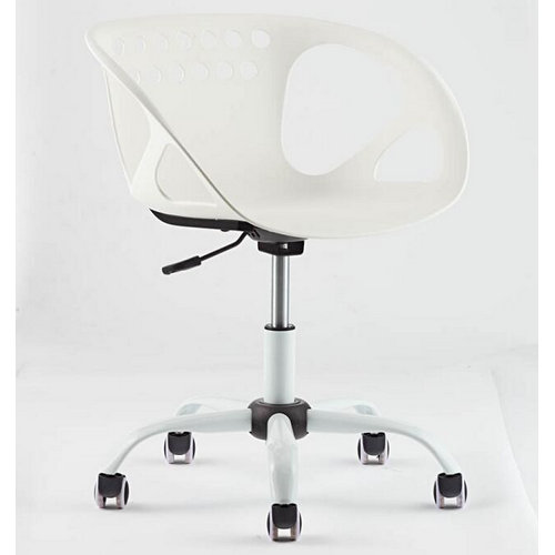 comfortable small swivel leisure office chair / low back computer employee chair