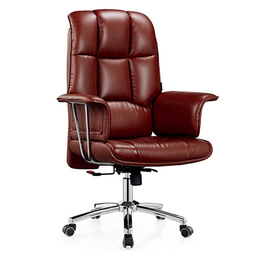 Foshan Custom design Promotional Italian leather executive office furniture chair