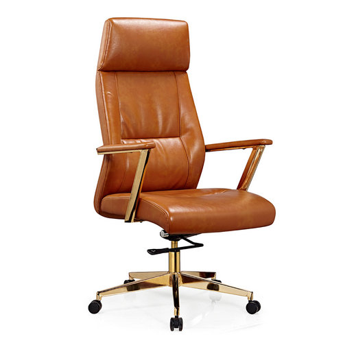 2016 Canton Fair Leather Executive Swivel High Back Office Chairs