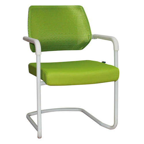 Foshan promotional office furniture small wire mesh office chair visitor conference offic