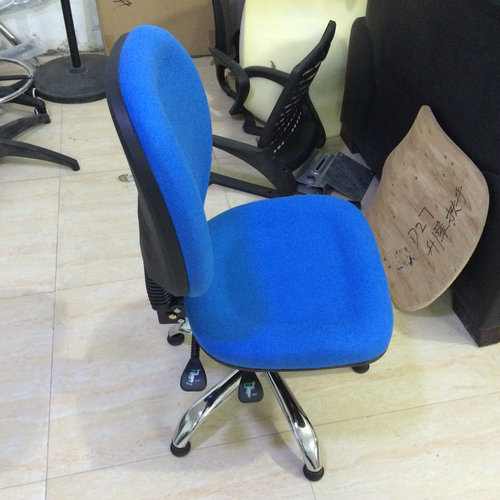 Cheap adjustable operator office chairs no wheels / swivel mesh office operator chair
