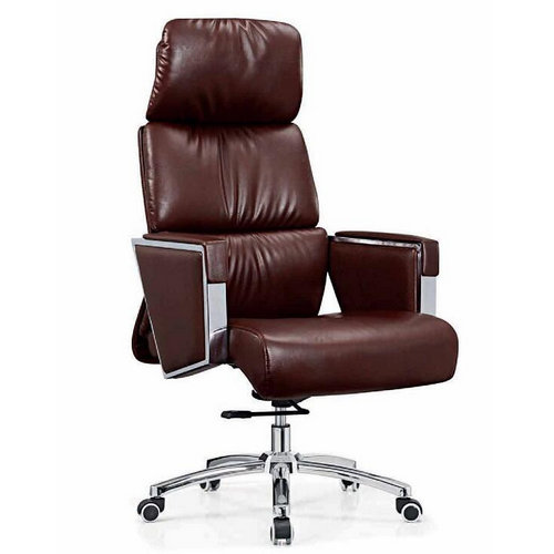 Foshan high back executive leather swivel ergonomic office chairs with wheels