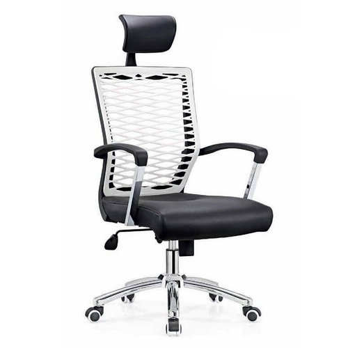 New Style Plastic Back Executive Office Chairs / Swivel Home Computer Chairs