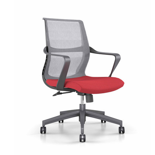 Hot sale ergonomic high quality staff computer office chairs / fabric task chair