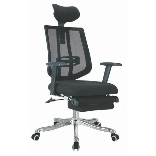 ergonomic office chair black high back computer chair with footrest / boss recliner chair executive