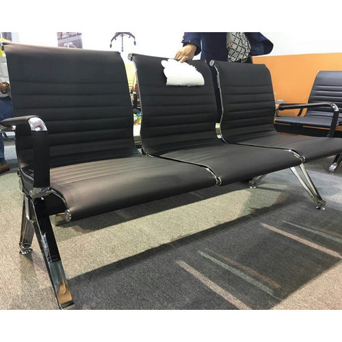 China Manufacturer CE Stainless Steel Hospital Public Waiting Chair Airport Reception Area Lounge Cha
