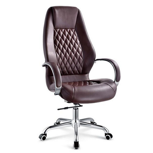Best Quality Cheap Adjustable Executive PU Leather Ergonomic Office Chairs / China Metal Armchair