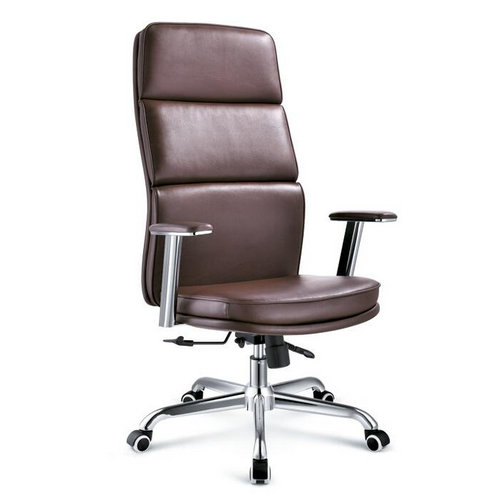 Wholesale china high back executive leather cheap office chairs for sale / adjustable boss office cha