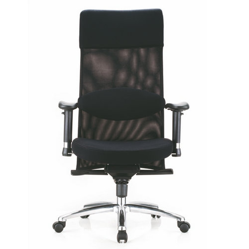 Modern swivel home computer chair mesh chairs with PP armrest / OEM fabric ergonomic office chairs