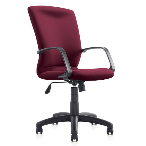 New Modern Style Simple Red Fabric Stacking Metal Tube Leg Office Conference Reception Chairs