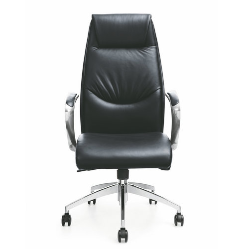 Foshan supplier high quality Executive Office Chairs various design luxury black leather boss chair