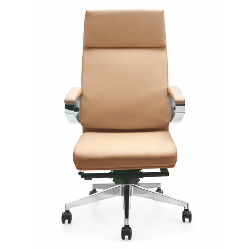 Modern Tall and Big Tilt Control Leather High Back Padded executive office chair Swivel Adjustable Se