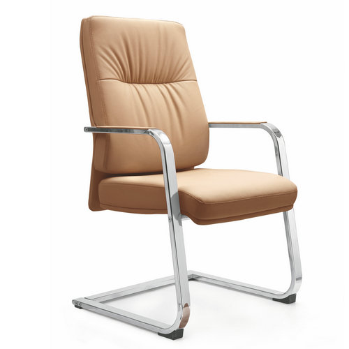 Ergonomic Big Tall Executive High Back Full PU Leather Heavy Duty Office Chairs / Best Arms Reception