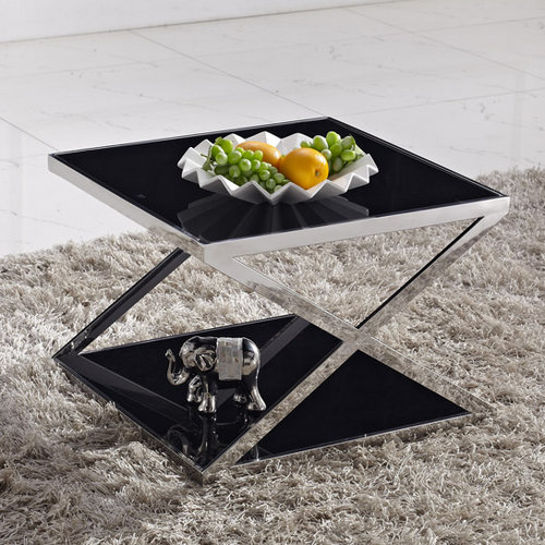 Hot sale glass coffee table / new design decorative metal coffee table legs / living room furniture d
