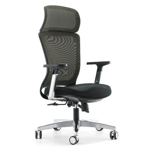 Modern home office furniture computer gaming fabric chair / high back swivel office chairs with headr