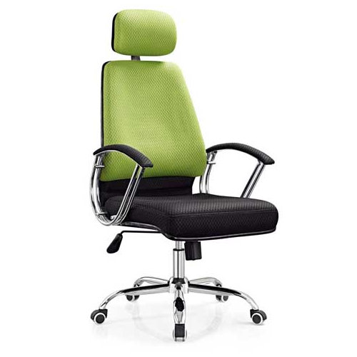 Hot sale high quality colorful rotatable chair mesh swivel office chair with soft cushion