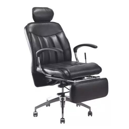 modern functional luxury office table leather swivel chair ergonomic reclining boss chair for noon br