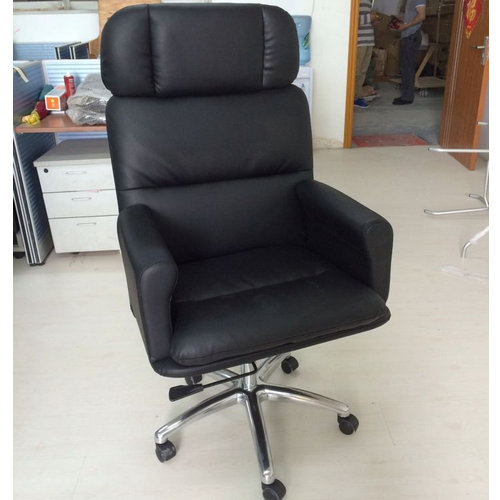 Professional Design High Back Soft Chair Promotional PU Leather Office Chair Cheap Price Chairman Cha