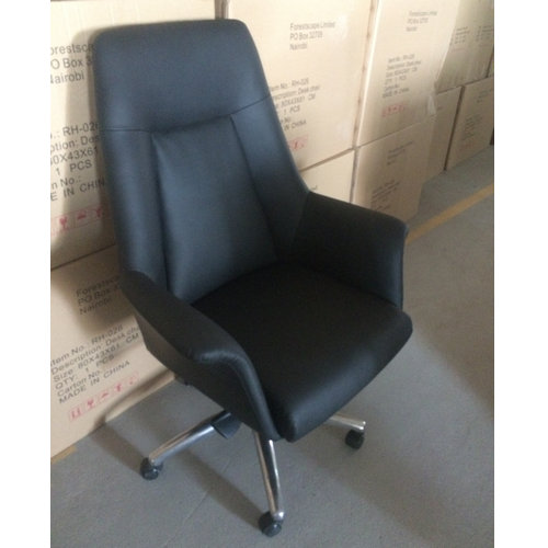 comfortable adjustable high back manager leather executive office chair for sale