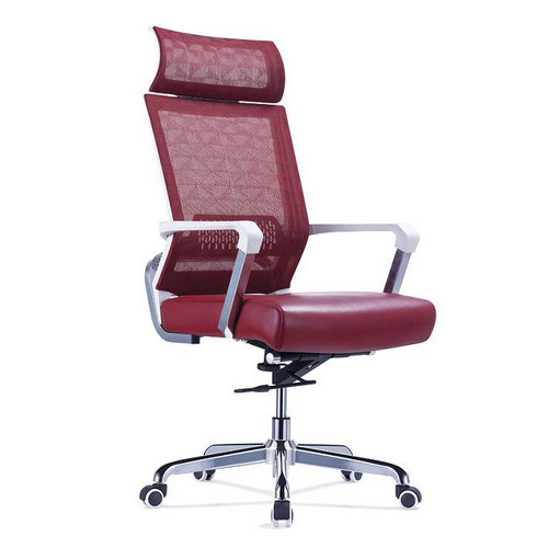 hot sale mesh leather frame racing ergonomic executive computer office chair with headrest