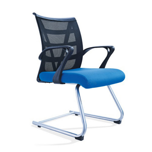 modern plastic mesh conference chair reception visitor seating for meeting room No Wheels