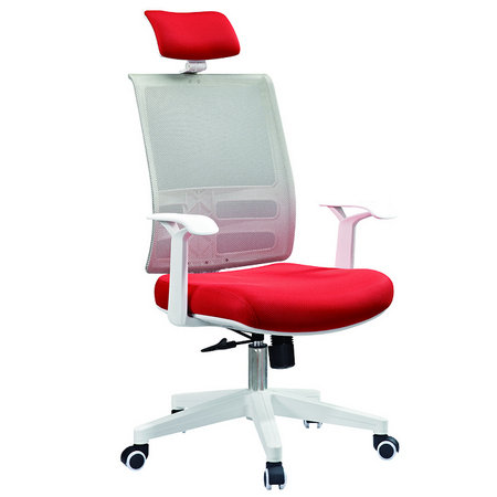 Competitive office rolling chair price from Foshan ergonomic white mesh chair manufacturer