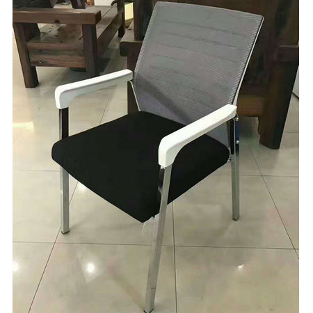 Wholesale CIFF mesh conference visitor chair boardroom office seating without casters